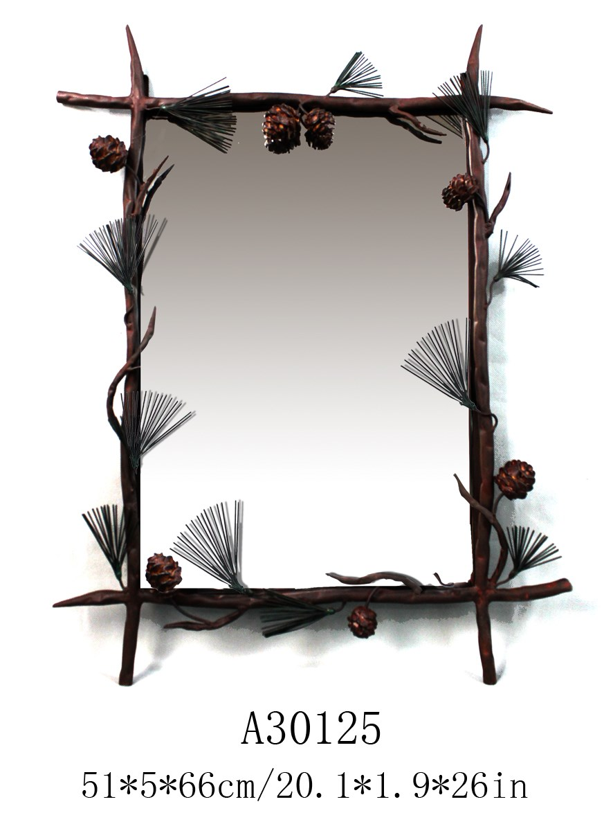 salon standing antique decorative wall mirror