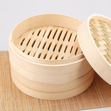 Sticky rice bamboo basket UK 3 layers bamboo food steamer for Amazon sellers