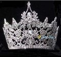 latest rhinestone and crystal custome pageant crowns cap tiara