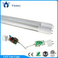 CE RoHS ETL certificated 120lm/w T8 1.2m Led tube8 japanese 18w