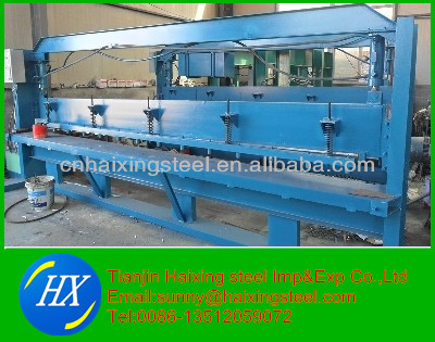 color steel metal sheet hydraulic shearing machine