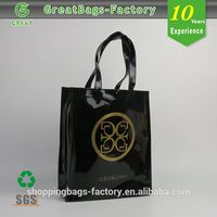 Customized pu leather bag factory