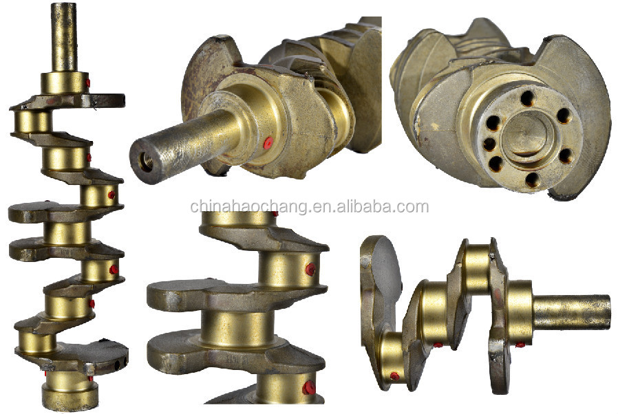 Mitsubishi 4D56 engine crankshaft