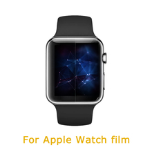 Wholesale soft tpu full size cover waterproof screen watch protector for Apple watch