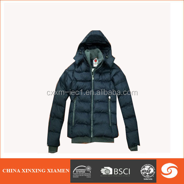 Top quality hollister down jacket hood for winters men
