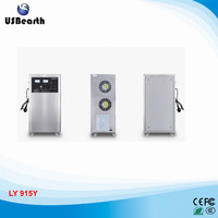 LY 915Y ozone generator 300w 15g/h for car,house room,food,air, for water disinfection ozone
