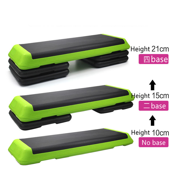 Adjustable Aerobic Step Platform 40 inch with 4 Risers - Step Board Exercise <strong>Equipment</strong>