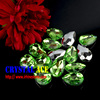 Top Quality Peridot Color Sew On Acrylic Rhinestone for garment
