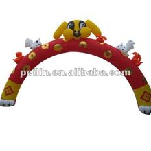 animals advertising inflatable arch