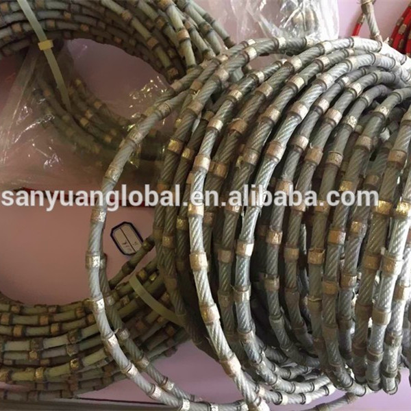 Sharp Concrete Granite Cutting Wire Saw Diamond Wire Saw For Stone Cutting