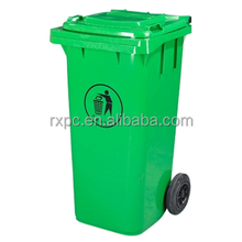 Sanitation HDPE cheap outdoor plastic dustbin