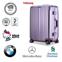 ABS+PC China Supplier abs / polycarbonate trolley luggage with Good Price Hard case