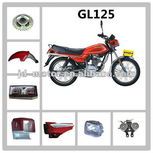 Japan moto 125cc GL125 parts