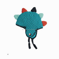 FUNNY CUSTOM PATCH KIDS WINTER KNITTED BEANIE HATS