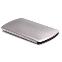 EOM Smart Slide Out Stainless Steel Business Credit Card Holder Name Card Carrying Case Thumb Slide-Out Pocket Case