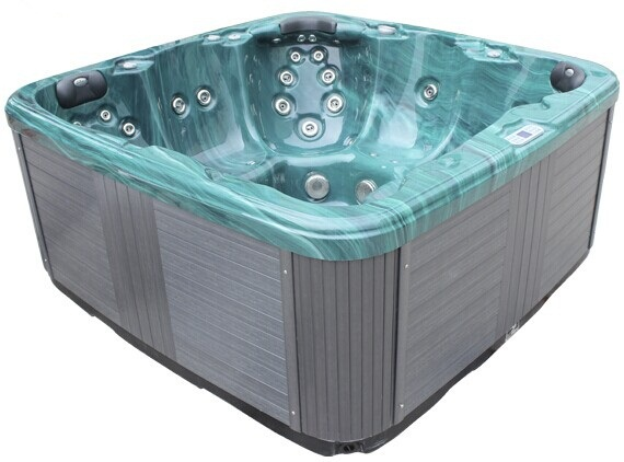 Factory China Supplier Acrylic 2lounger with 3seat for 5person spa equipment /mixing hot sex tub
