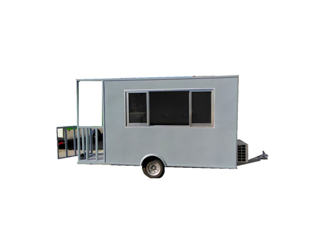 High quality mini food truck trailer for candy in USA