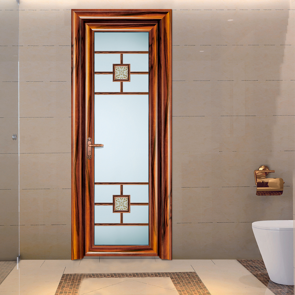 HS-JY9025 alibaba china factory direct import frosted bathroom glass interior doors