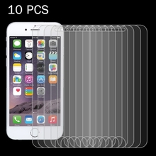 Wholesale 10pcs/Set 9H Tempered Glass, 2.5D Anti-Shock Curved Guard Screen Protector Film for iPhone 7