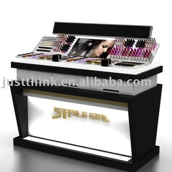 Custom cosmetic display stand FZ-TF1012281