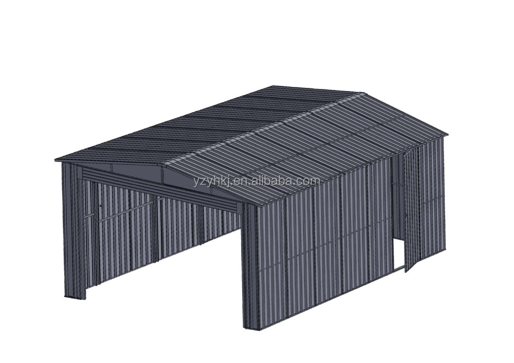 Solid structure steel cheap prefab garage kits lowes buy for Cheap garage packages