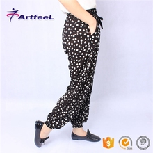 Women haren cutting of ladies cotton new design trousers