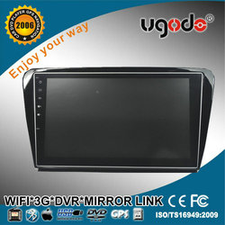 Android quad core 16GB HD touch screen Bluetooth WIFI car dvd player for skoda octavia
