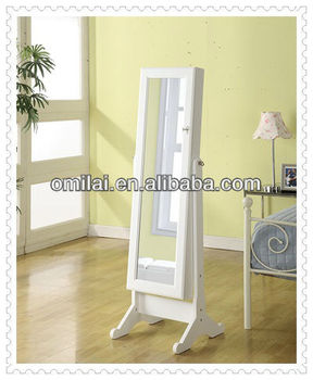 floor design jewelry armoire Cabinet merchandiser