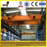 double girder travelling bridge crane 5 ton