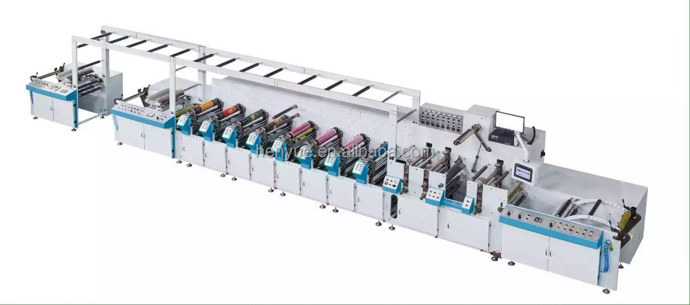 flexographic printing machine/sticker printing machine