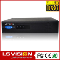 LS VISION setup h 264 network dvr software p2p/pnp cloud NVR