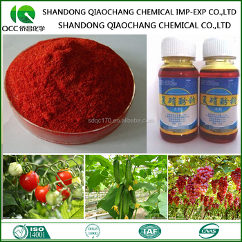 Compound Sodium Nitrophenolate 98%TC 1.8%AS 1.4%AS CAS No.: 67233-85-6 Plant Growth Regulator Atonik