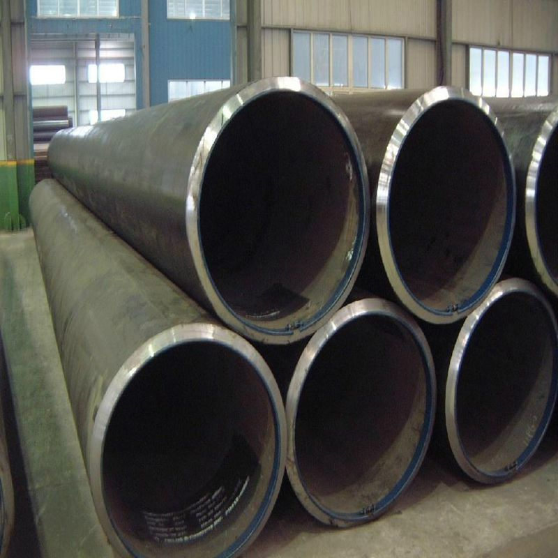 good service Api5L X52 Psl2 Lsaw steel pipe with black painting