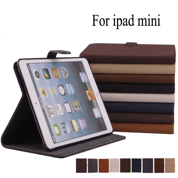Universal wallet leather case cover for ipad mini 2014