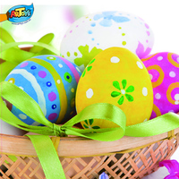Wholesale Ceramic Egg Painting Easter Decoration Non-toxic Easter Egg