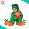 High quality safety soft small size baby animal frog costumes