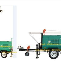 Vehicle Type Mobile Lighting Tower By