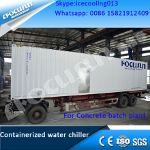 FWC-180 FOCUSUN concrete cooling containerized water chiller system