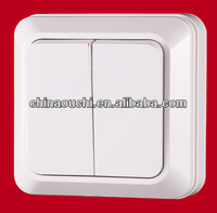 European Style One Gang Two Way Wall Switches (SR-1804)