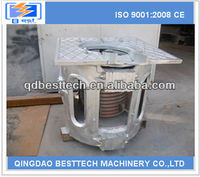 100kg melting induction furnace, aluminum melting furnace, inductotherm induction furnace