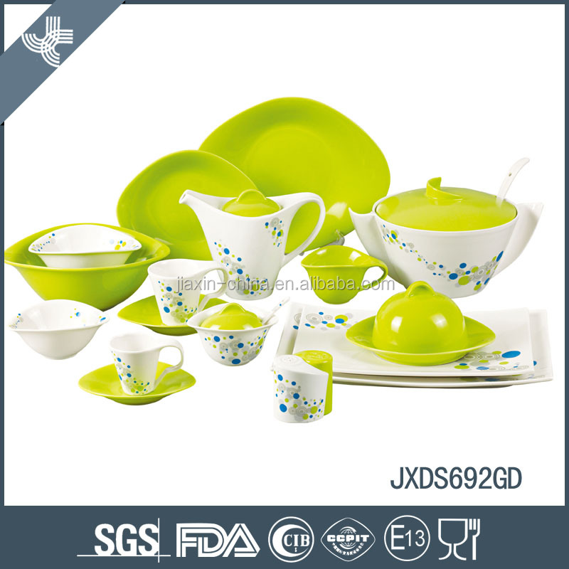 Best quality heat resistant wholesale ceramic tableware set