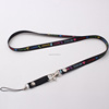 Custom lanyard new design keyring starfish cell phone lanyard neck lanyard