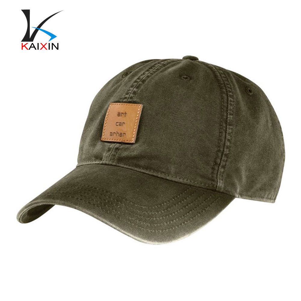 Special Unique 2016 Newest Design Cotton Baseball Cap Hat With Custom Leather Embossed Logo/Professional Golf Cap Outdoor Hats