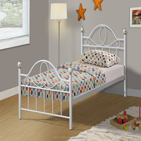 Hot sale steel cheap hostel single bed metal single bed
