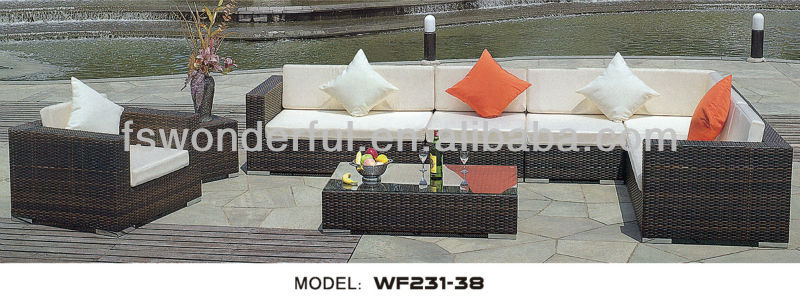 WF231-38 patio rattan/wicker furniture