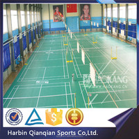 2015 new indoor high quality badminton PVC sporting flooring