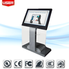 "2015 bank 46"" digital touch screen lcd interactive kiosk 1080P ce rohs fcc ul"