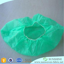 Biodegradable white polypropylene nonwoven geotextile/non woven fabric for shoes cover/non-woven material from Quanzhou Supplier