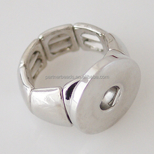 Wholesale snap rings jewelry fit 18-20mm snap buttons can be snap 2 it for women DIY jewelry