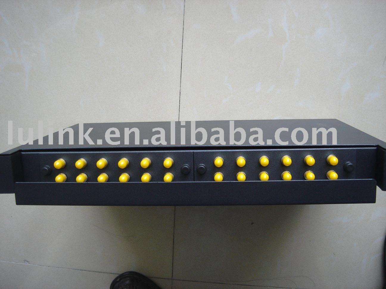 St interfaz de fibra ptica patch panel 24 puertos mm - Patch panel de 24 puertos ...